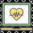 Eletrocardiogram Electrocardiogram Cardiovascular Icon
