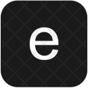 Keyboard Latin Letter Icon