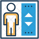 Elevator Lift Door Icon
