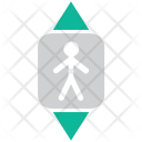 Elevator Man In Icon