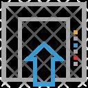 Elevator Move Up Icon