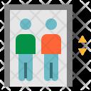 Elevator People Up Icon
