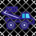 Elevator Cargo Construction Icon
