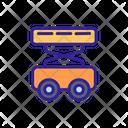 Elevator Car Construction Icon