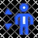 Human Elevator Up Icon