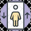 Elevator Lift Passenger Icon