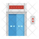 Elevator Lift Doors Icon
