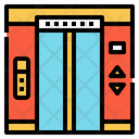 Lift Transportation Electronics Icon