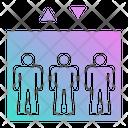 Elevator Lift Construction Icon