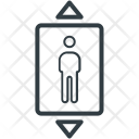 Elevator Lift Electric Icon