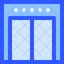 Hotel Service Elevator Icon