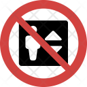 Elevator not allowed Icon