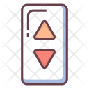 Elevator Sign Up Icon