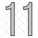 Numbers Days 11 Icon