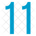 Eleven Numbers Icon