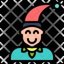 Elf Man Tribe Icon