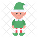 Elf Christmas Fantasy Icon