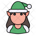 Elf Christmas Avatar Icon