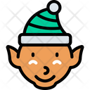 Elf Character Holidays Icon