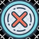 Elimination Erasure Riddance Icon