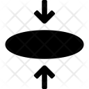 Elipse Circle Insert Icon