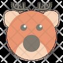 Elk Wildlife Animal Icon
