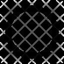Ellipse Tool Circle Icon