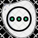 Ellipsis Circle Icon