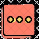 Ellipsis Square Icon