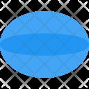 Ellipsoid Icon