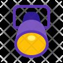 Ellipsoidal reflector Icon