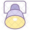 Ellipsoidal Reflector Light Icon