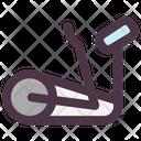Elliptical Trainer Gym Icon