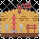 Ema Temple Icon