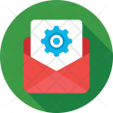 Email Settings Cog Icon