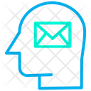 Email Support Mail Human Mind Icon