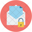 Email Mail Lock Icon