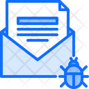 Email Mail Virus Icon