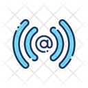 Email Wireless Network Wifi Network Icon
