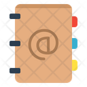 Email Address Book Icon