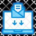 Email Inbox Laptop Icon