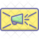Email Marketing Ad Icon