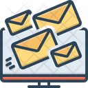 Deliverability Email Message Icon