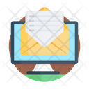 Email Correspondence Electronic Mail Icon