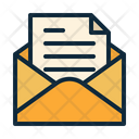 Library Email Open Mail Icon