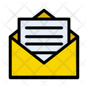 Mail Message Open Icon