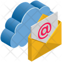 Cloud Computing Email Icon