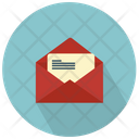 Email Opened Envelope Icon