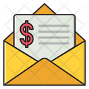 Email Invoice Bill Icon