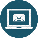 Laptop Computer Envelope Icon